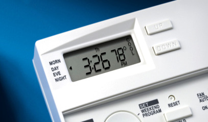 Programmable Thermostats- Reduce energy costs