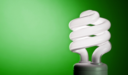 Compact Fluorescent Light Bulb (CFL)