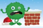 Graphic of energy grinch with chimney