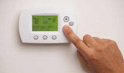 energy efficient thermostat settings