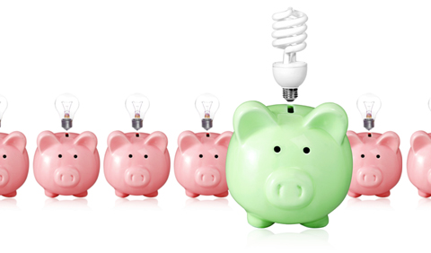 Energy efficient lighting is good for the environment and for your bank balance